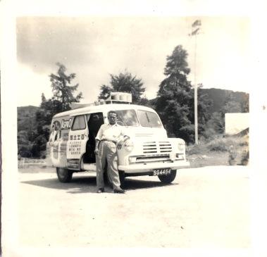 Yayi and his van